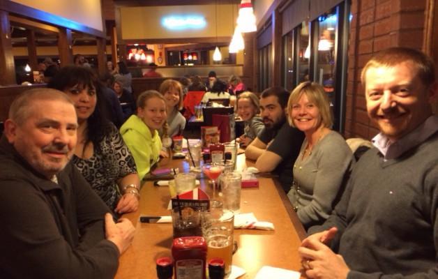Visit with Chris and Mandy in Cincinnati, Ohio.