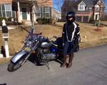 Forårs tur på motorcyklen