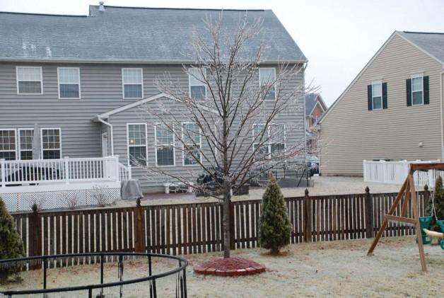 Vinter, Sne og is.