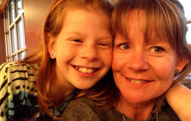 Mor og datter tid.