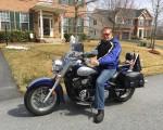 Første tur på motorcykel