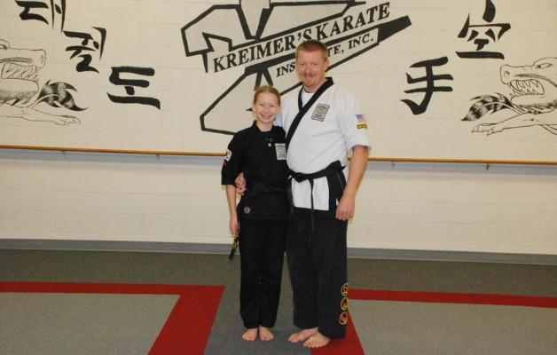 Sortbælte i Karate