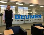 Første arbejdsdag hos BEUMERGroup