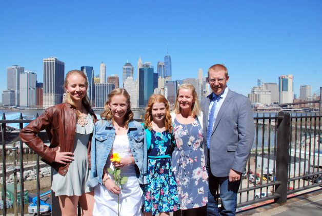 Konfirmation i NYC