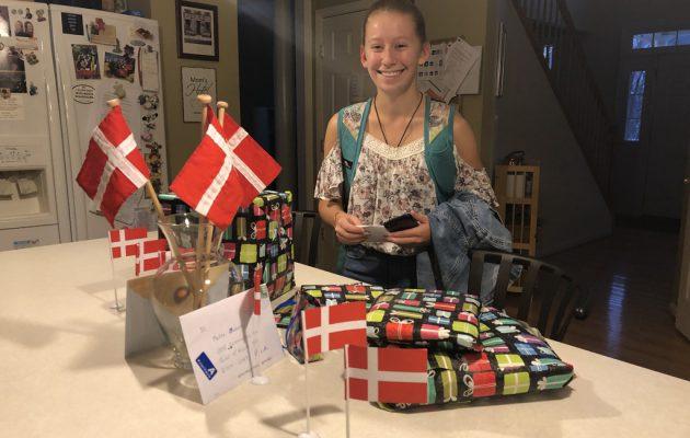 Mette's 16 års fødselsdag