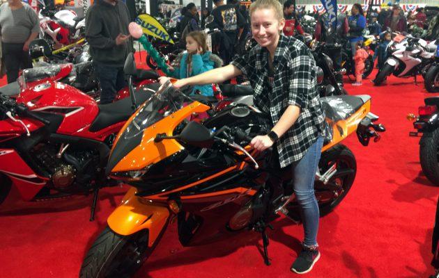 Motorcykel messe i Baltimore